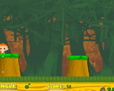 Прыжки обезьяны