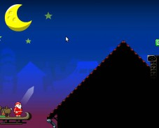 Дед Мороз идет на взлет