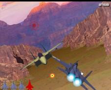 Воздушный бой в горах