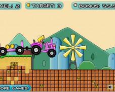 Марио и трактор 2