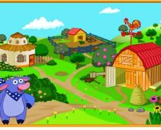 Даша на ферме