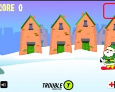 Санта сноубордист