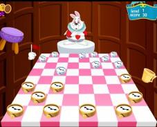 Шашки с кроликом