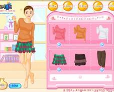 Школьная одевалка