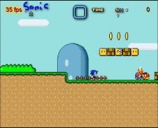 Sonic in Mario World 2