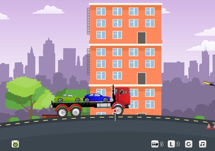 игры для мальчиков машина на двоих