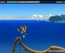 Пляжный мотоциклист