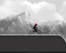 Черно-белый BMX