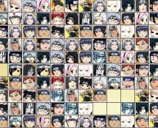 Найти одинаковых героев Наруто