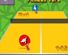 Настольный теннис Финис против Ферба