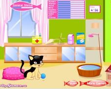 Ухаживать за котёнком