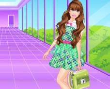 Барби в школе