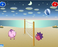 Волейбол на двоих