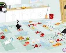 Приключения Пушка на кухне