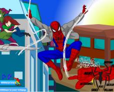Одевалка человек паук
