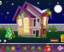 Украшаем дом на новый год