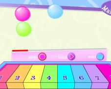 Барби пианино