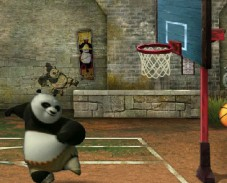 Баскетбол с пандой