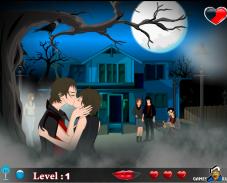 Поцелуи на Хэллоуин