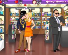 Поцелуй в торговом центре