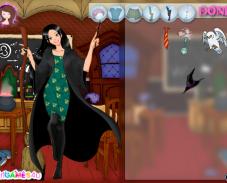 Одевалка ведьма