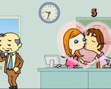 Поцелуи на работе