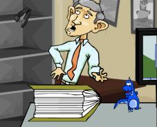 Псих в офисе 4