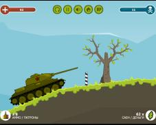 Русский танк против армии Гитлера
