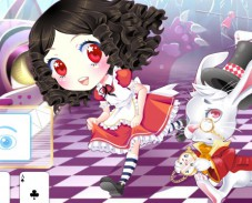 Одевалка Алиса в стране чудес