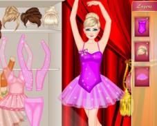 Одевалка Барби балерина