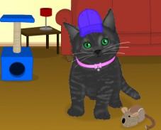 Одевалка котёнок