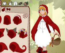 Одевалка красная шапочка