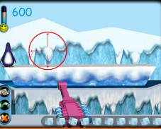 Стрелялка по пингвинам