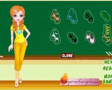 Одевалка школьные модницы