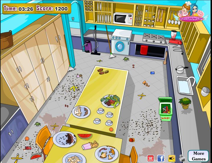 Уборка на кухне2