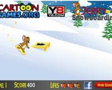Джерри-на-сноуборде