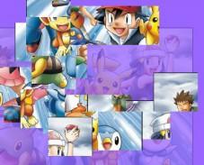 Дружная команда покемонов