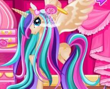 Уход-за-волосами-с-принцессой-пони