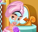 Принцесса Жасмин макияж
