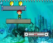 Монеты под водой
