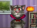 Говорящий кот Том Хэллоуин
