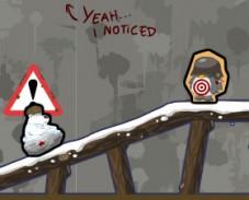 Медведь против пингвинов