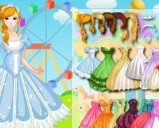 Одевалка принцесса гламура