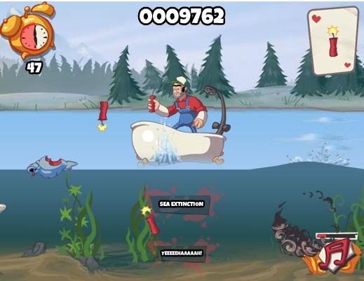 ловля рыбы динамитом