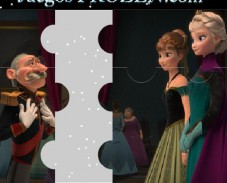 Холодное сердце пазл Герцог, Анна и Эльза