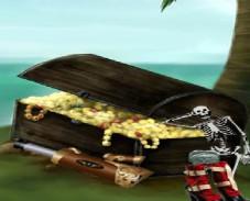Найти предметы - пиратский остров