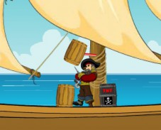 Пираты Карибского моря атакуют врага