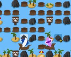 Пираты Карибского моря битва