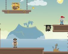 Пираты Карибского моря наполни сундук