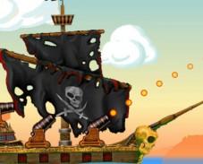 Пираты Карибского моря разрушение крепости